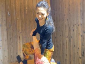 タイ古式の施術