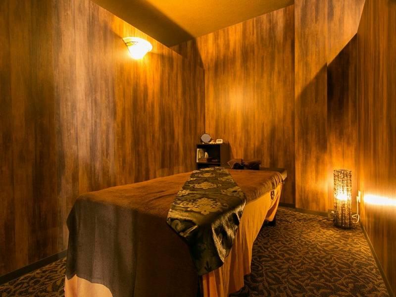 明石市の整体・マッサージ:ヴィラ 西明石 完全個室のプライベートルーム